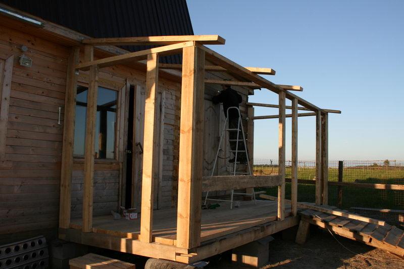 Как построить веранду к дому своими руками пошаговая инструкция фото